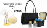 Zobrazit detail - Odsávačka Medela Swing + Citystyle-chladící box, 4 lahvičky a taška