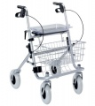 Zobrazit detail - Skládací pojízdné čtyřkolové invalidní chodítko Rollator - PŮJČENÍ