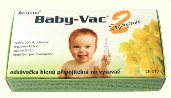 Baby-vac dětská odsávačka hlenů ZASÍLÁME IHNED! Arianna