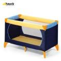 Cestovní postýlka Dream'n Play Hauck Yellow-Blue-Navy