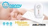 Jablotron Nanny BM02 monitor dechu
