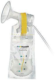 Sáčky na zamrazení mateřského mléka Medela - 150ml, 20ks