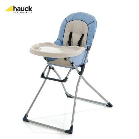 Skládací jídelní židlička Mac Baby Hauck Blue