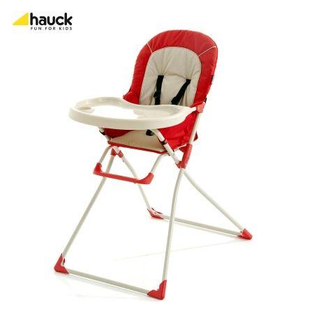 Skládací jídelní židlička Mac Baby Hauck Red