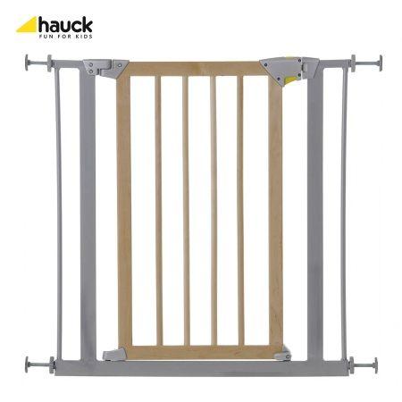 Zábrana do dveří Deluxe Wood Hauck silver - wood