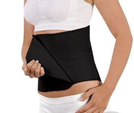 Belly Binder - Stahovací pás po porodu černý S/M Carriwell