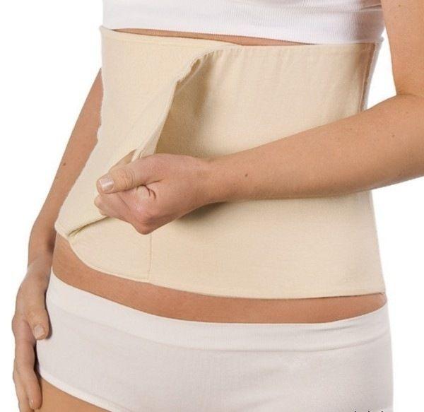 Belly Binder - Stahovací pás po porodu tělový S M Carriwell e730f60a48