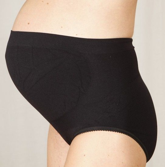 Kalhotky těhotenské podpůrné černé XL Carriwell