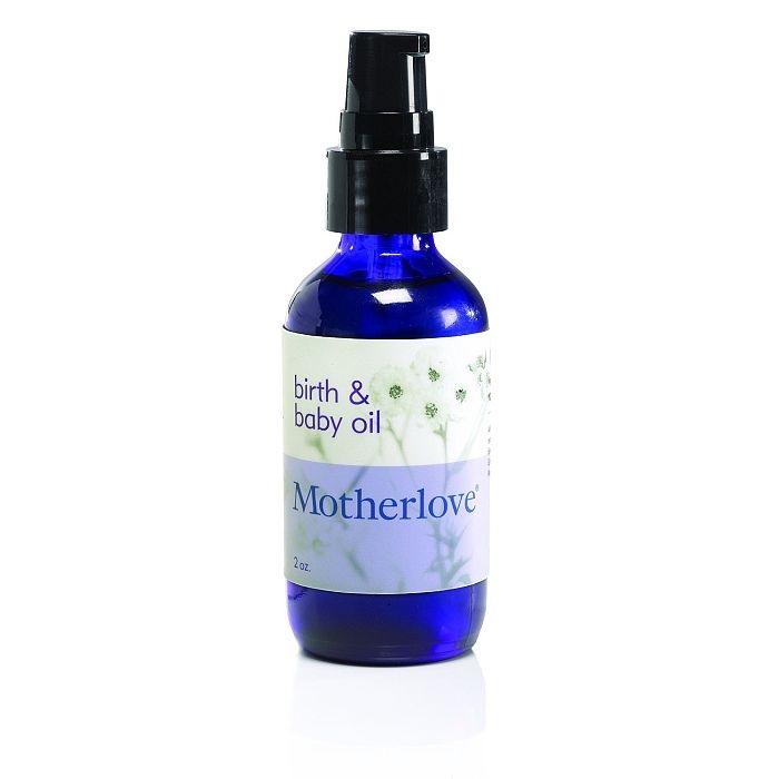 Olej na masáž miminka a hráze Motherlove
