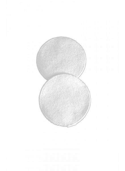 Prací vložky do podprsenky 6ks bavlněné bílé UNI Carriwell