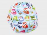 T-Tomi Plenkové plavky pro kojence, modrá sova, velikost S