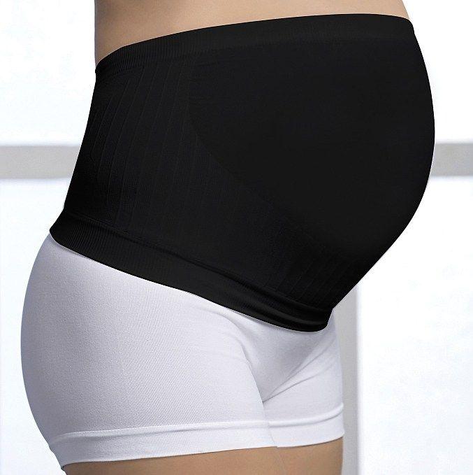 Těhotenský podpůrný pás černá M Carriwell