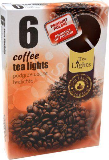 Čajové vonné svíčky- coffee