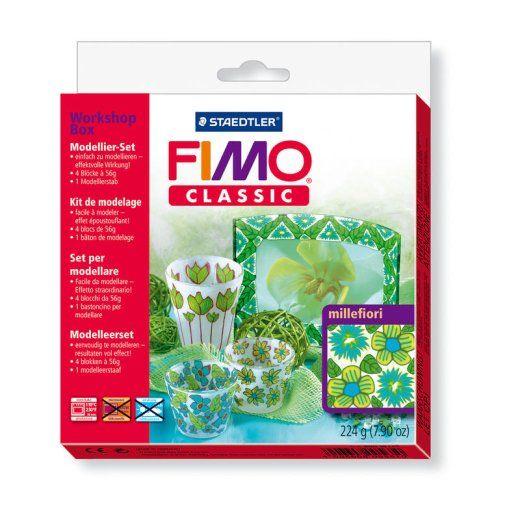 FIMO Classic Workshop Box Millefiori Staedtler