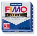 FIMO Effect 56g blok - modrá se třpytkami- třpytivá (efekt)