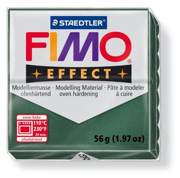 FIMO Effect 56g blok - opálová- Opal zelená (efekt) Staedtler