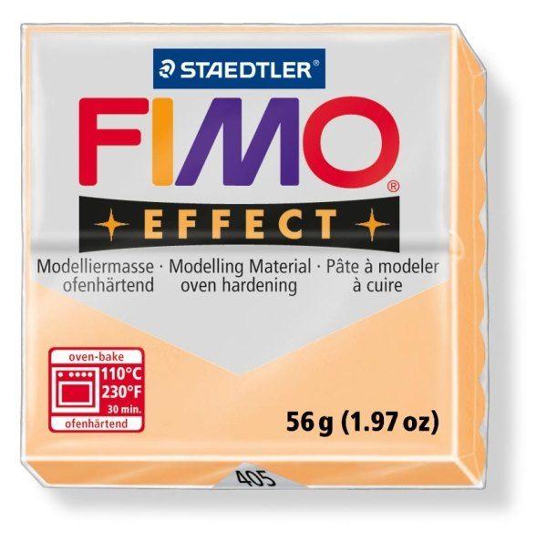 FIMO Effect 56g blok - pastel broskev (efekt) Staedtler