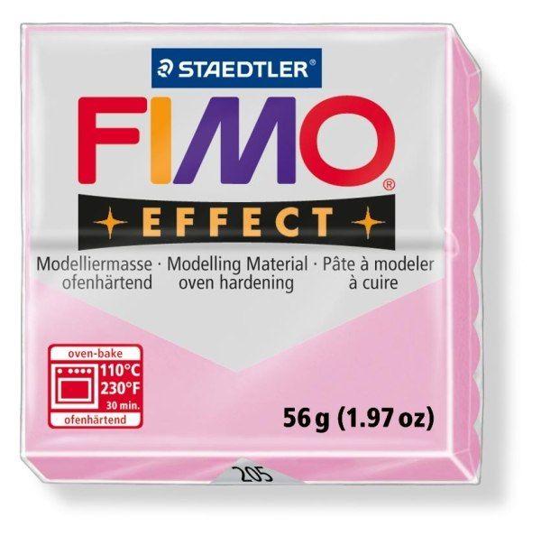 FIMO Effect 56g blok - pastel růžová růže (efekt) Staedtler