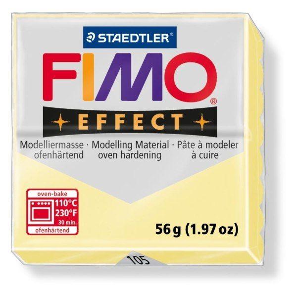 FIMO Effect 56g blok - pastel vanilka (efekt) Staedtler