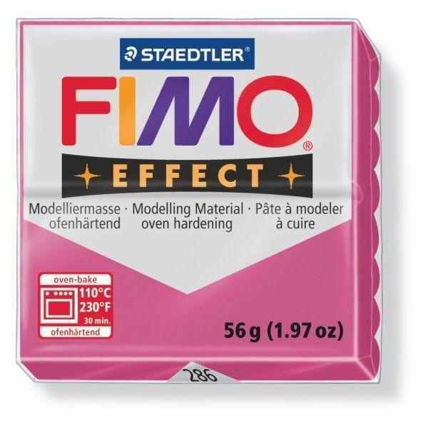 FIMO Effect 56g blok - rubín (efekt) Staedtler