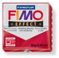 FIMO Effect 56g blok - metalická rubínová- červená rubín (efekt)
