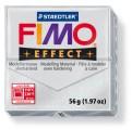 FIMO Effect 56g blok - metalická stříbrná jemná (efekt)