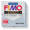 FIMO Effect 56g blok - stříbrná- třpytivá (efekt)
