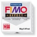 FIMO Effect 56g blok - transparentní bílá (efekt)