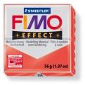 FIMO Effect 56g blok - transparentní červená (efekt)