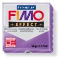 FIMO Effect 56g blok - transparentní fialová- lila (efekt)