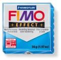 FIMO Effect 56g blok - transparentní modrá (efekt)