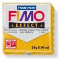FIMO Effect 56g blok - zlatá se třpytkami- třpytivá (efekt)
