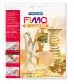 FIMO kovové plátky abalone