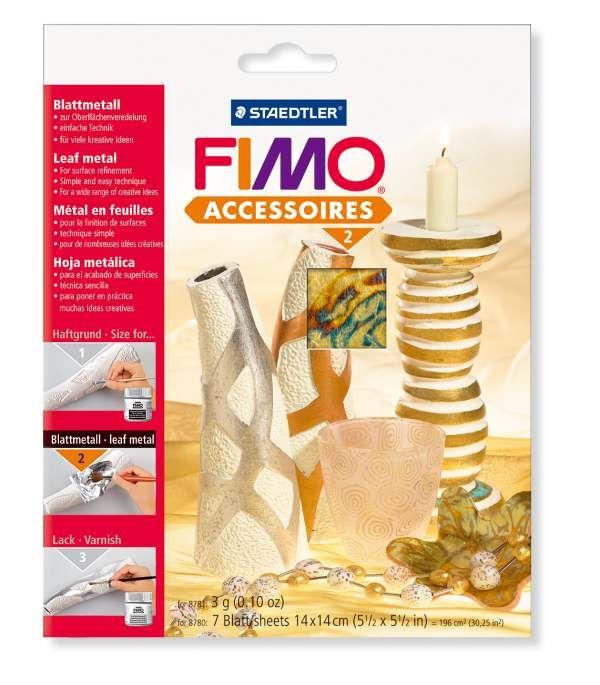 FIMO kovové plátky abalone Staedtler