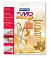 FIMO kovové plátky měď