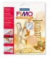 FIMO kovové plátky stříbrné