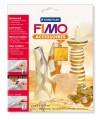 FIMO kovové plátky zlaté