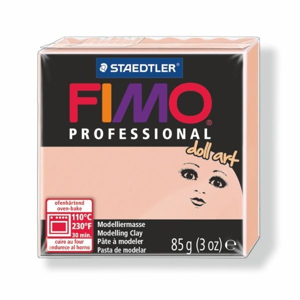FIMO professional DollArt 85g světle růžová (poloprůsvitná) Staedtler
