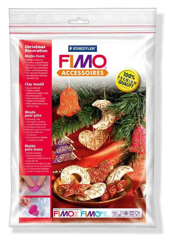 FIMO Silikonová forma Christmas decorations (Vánoční dekorace) Staedtler