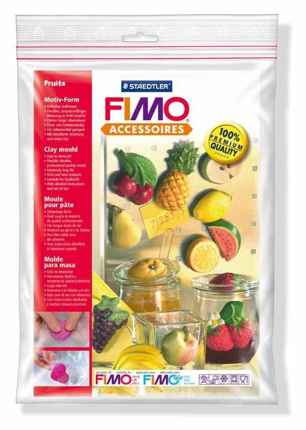 FIMO Silikonová forma Fruits (Ovoce) Staedtler