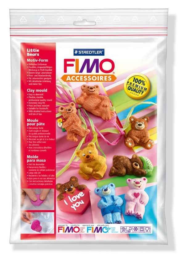FIMO Silikonová forma Little bears (Malí medvídci) Staedtler