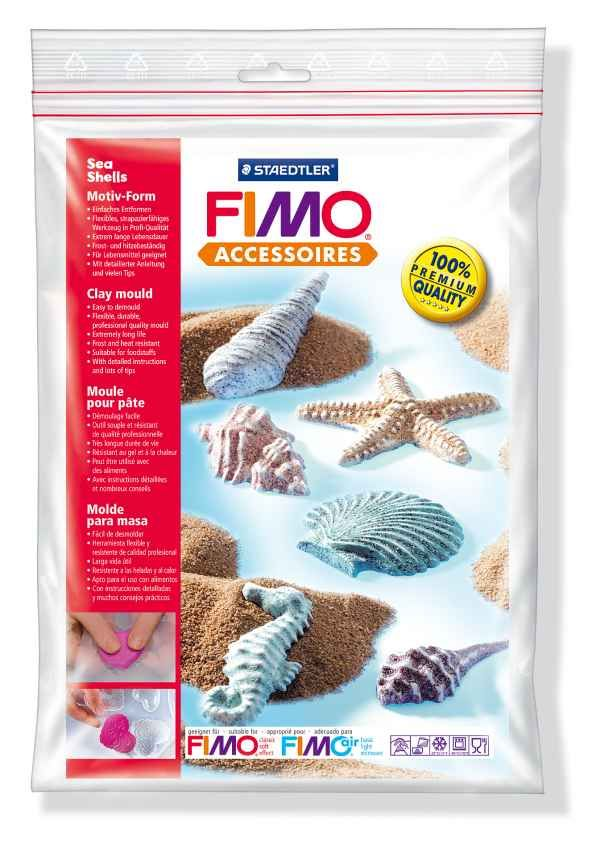 FIMO Silikonová forma Sea shells (Mořské mušle) Staedtler