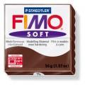 FIMO Soft 56g blok čokoládová (hnědá čokoláda)