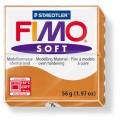 FIMO Soft 56g blok karamelová (Koňakově hnědá)