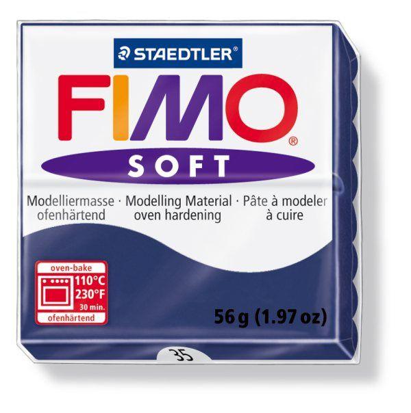 FIMO Soft 56g blok modro-zelená (Modrá Windsor) Staedtler