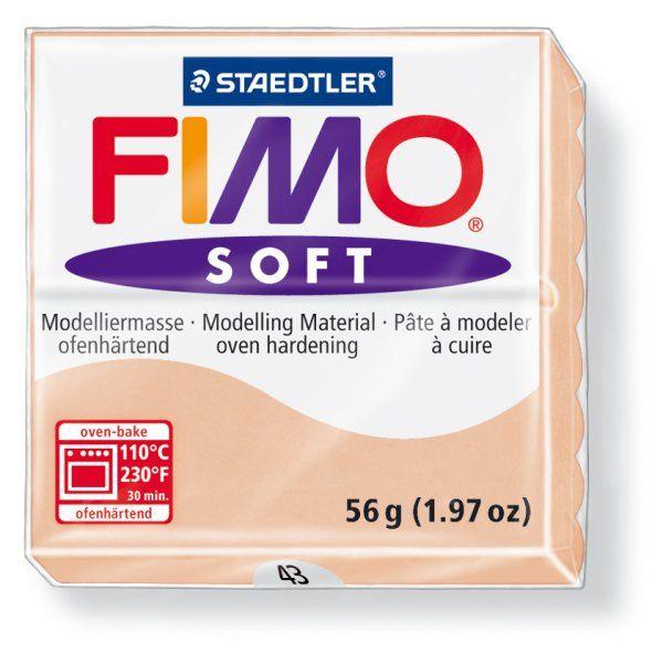 FIMO Soft 56g blok tělová (světlá pleť) Staedtler
