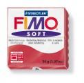 FIMO Soft 56g blok tmavě červená (Cherry)
