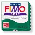 FIMO Soft 56g blok tmavě zelená (Zelený smaragd)