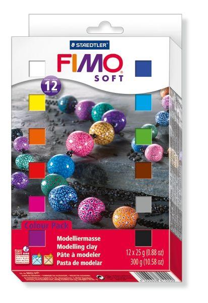 Kreativní sada Fimo Soft sada 12 barev (původně 10 barev) Staedtler