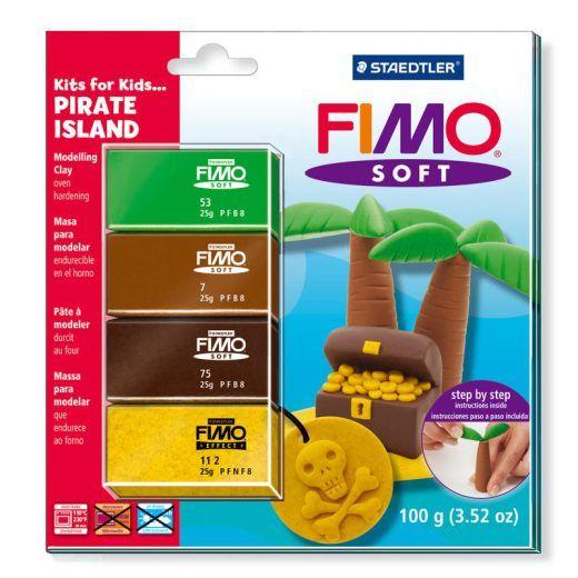 FIMO Soft sada pro děti piráti - Pirate Islands Staedtler